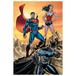 """DC Comics, """"DC Universe Rebirth"""" Numbered Limited"""
