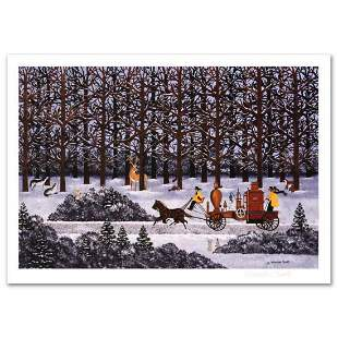 """Jane Wooster Scott, """"Dashing Through the Snow"""" Hand"""