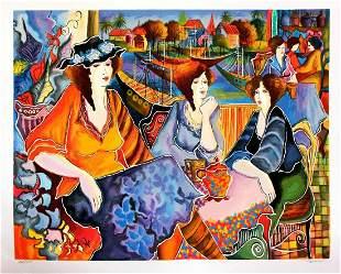 "Patricia Govezensky- Original Serigraph on Paper ""Port"