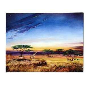 """""""Africa at Peace"""" Limited Edition Giclee on Canvas by"""