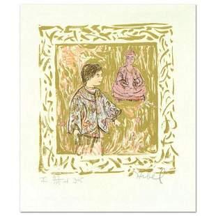 "Edna Hibel (1917-2014), ""Temple Visit"" Limited Edition"