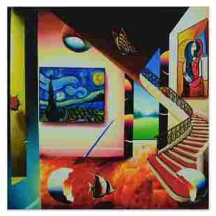 "Ferjo, ""Starry Nights Glow"" Limited Edition on Gallery"