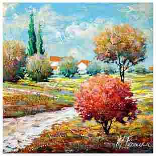 "Mark Braver, ""Perfect Charm"" Original Oil Painting on"