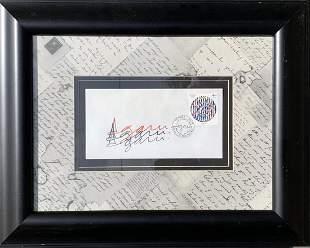 Yaacov Agam Envelope