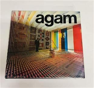 Yaacov Agam Hardcover book