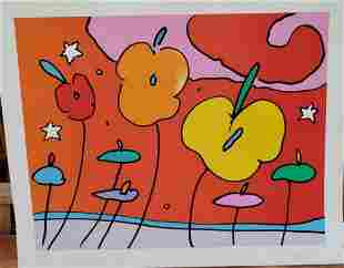 Peter Max Serigraph on paper