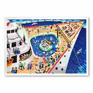 """Yuval Mahler, """"The Cruise"""" Hand Signed Limited Edition"""