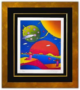 "Peter Max- Original Lithograph ""Year 2050 II"""