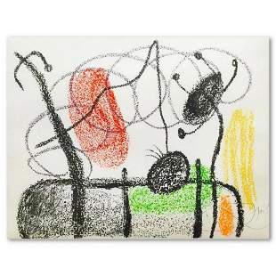 "Joan Miro (1893-1983), ""Plate 19"" from ""Album 21"""