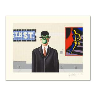 """Mark Kostabi, """"Going Places"""" Limited Edition Serigraph,"""