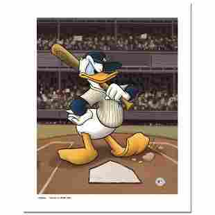 """""""Donald at the Plate (Yankees)"""" Numbered Limited"""