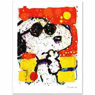 """Tom Everhart- Hand Pulled Original Lithograph """"Cool and"""