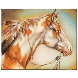 """""""Dreamer Horse"""" Limited Edition Giclee on Canvas by"""