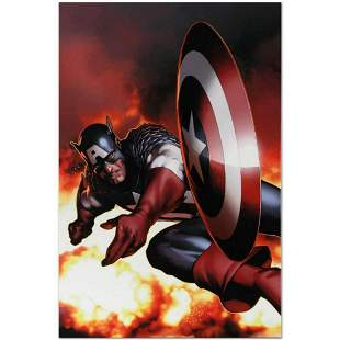 """Marvel Comics """"Captain America #2"""" Numbered Limited"""