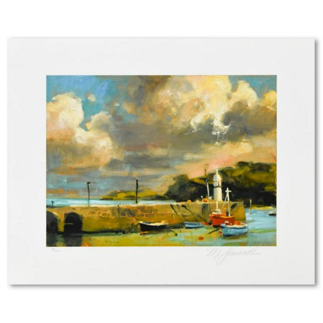 """Marilyn Simandle, """"St. Ives"""" Limited Edition, Numbered"""