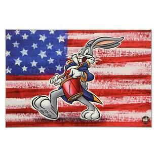 "Looney Tunes, ""Patriotic Series: Bugs Bunny"" Numbered"