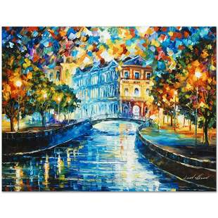 """Leonid Afremov (1955-2019) """"House on the Hill"""" Limited"""