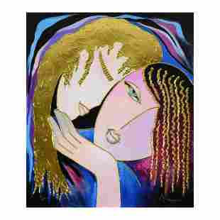 """Arbe, """"Little Sister"""" Limited Edition on Canvas with"""