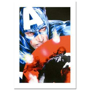 """Marvel Comics, """"Captain America #37"""" Numbered Limited"""