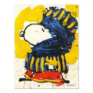 """Tom Everhart- Hand Pulled Original Lithograph """"March"""