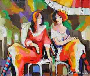 "Kerman- Acrylic on Canvas ""Untitled"""