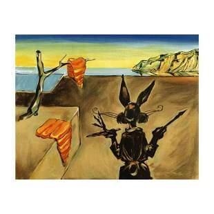 "Chuck Jones ""Persistence Of Carrots"" Hand Signed"
