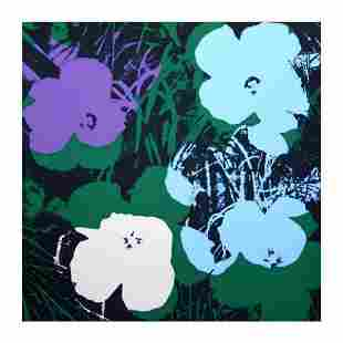 """Andy Warhol """"Flowers 11.64"""" Silk Screen Print from"""