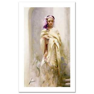 """Pino (1931-2010), """"The Silk Shawl"""" Limited Edition on"""
