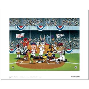 """""""Line Up At The Plate (Indians)"""" is a Limited Edition"""