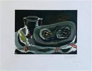 Georges Braque (After) Nature Morte aux Huitres 1949