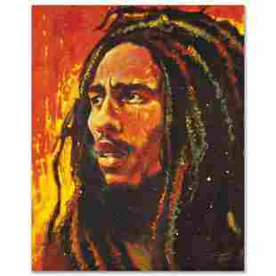 """""""Bob Marley"""" Limited Edition Giclee on Canvas by"""