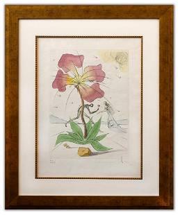 "Salvador Dali- Original Lithograph ""Reuben (From Twelve"