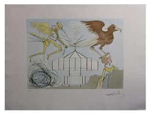 Salvador Dali- Original Engravings with color by