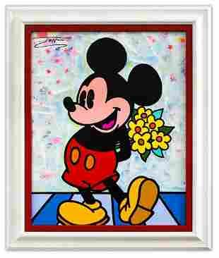 "Jozza- Original Acrylic on Canvas ""Untitled"""