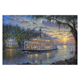 "Robert Finale, ""Sunset Over Memphis"" Hand Signed,"
