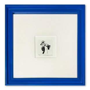 """""""Pepe le Pew"""" Framed Limited Edition Etching with"""