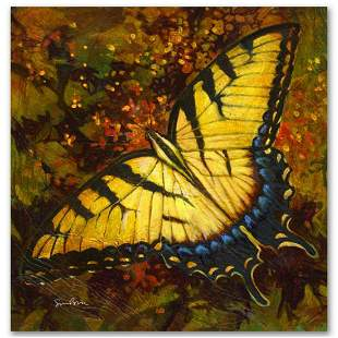 """""""Nectar"""" Limited Edition Giclee on Canvas by Simon"""