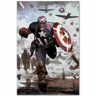 """Marvel Comics """"Captain America #615"""" Numbered Limited"""