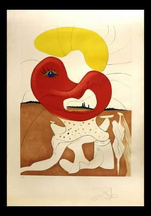 Salvador Dali- Original Engravings with Lithographic