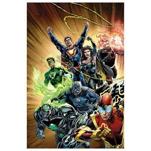 """DC Comics, """"Justice League #24"""" Numbered Limited"""