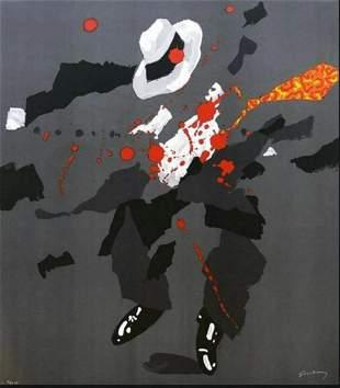 Waldemar Swierzy (1931-2013)- Hand Pulled Original