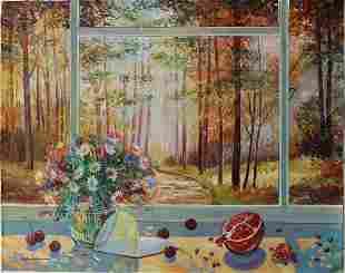 "Alexander Borewko- Original Oil on Canvas ""Into the"