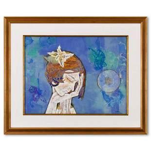 "Lu Hong, ""Haiku III - Autumn (1997)"" Framed Original"