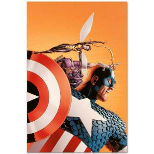 """Marvel Comics """"Avengers #77"""" Numbered Limited Edition"""