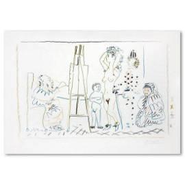 """Pablo Picasso (1881-1973), """"L'Atelier du Vieux Peintre"""""""