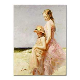 """Pino (1939-2010), """"Summer's Day"""" Artist Embellished"""