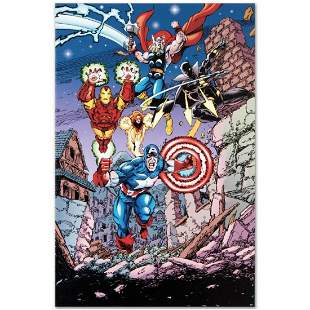 """Marvel Comics """"Avengers #21"""" Numbered Limited Edition"""