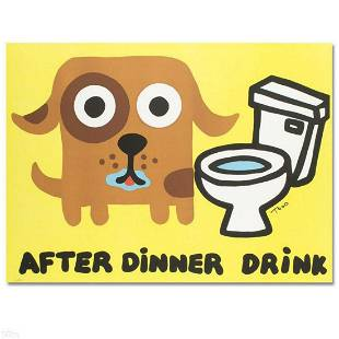 """""""After Dinner Drink"""" Limited Edition Lithograph by Todd"""