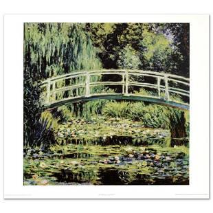 """White Waterlilies"" Fine Art Print by Monet"