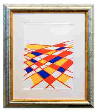 "Alexander Calder- Lithograph ""DLM190 - Composition II"""
